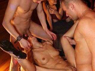 Real student sex party showing lusty bitches fuck