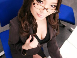 Office sex for Ibuki ends with raw and deep anal..