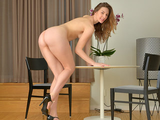Lovely Ariadna is a Russian hottie who looks..